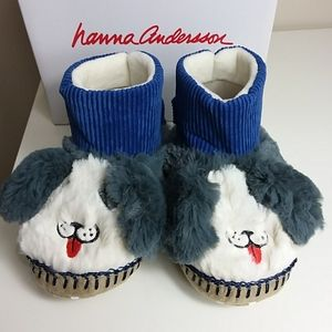 Hanna Andersson Dog Slippers